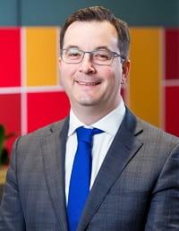 Mr Dan Dredge, Chief Operating Officer