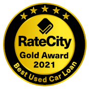 Rate City Gold Award for Best Used Car Loan 2021